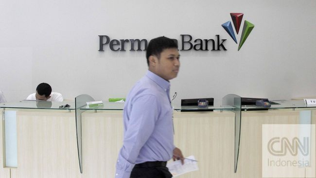 Saham Bank Permata meroket 11,45 persen di level 2.530 pada penutupan perdagangan sesi pertama, Selasa (16/2).