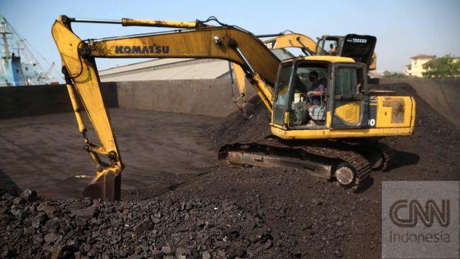 Harga batu bara acuan (HBA) turun 1,9 persen menjadi US65,77 per ton pada April 2020 karena lemahnya permintaan global.