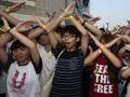 Dua Pelajar Dituntut atas Protes Pro Demokrasi di Hong Kong