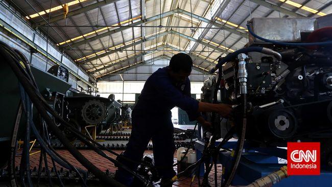 Kontribusi industri manufaktur terhadap PDB kuartal I 2019 disebut meningkat jadi 20,07 persen atau naik dari sebelumnya 19,86 persen.