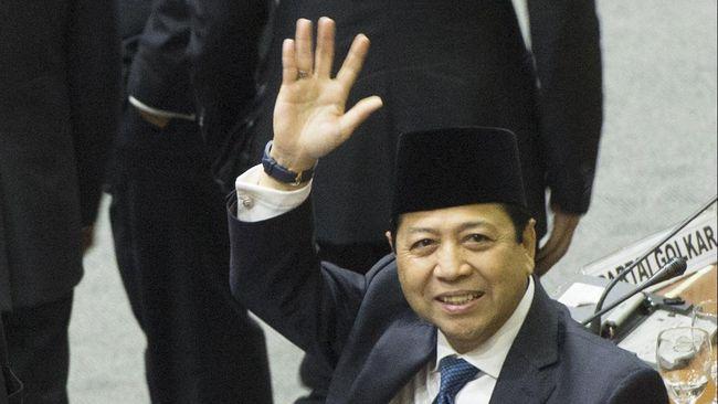 Setya Novanto, Jago Lobi jadi Tersangka Kasus Korupsi  e-KTP
