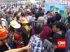 Warga Tinggalkan Monas setelah Jokowi Pidato