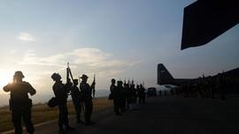 Pesawat Evakuasi Jenazah TNI Ditembak di Intan Jaya Papua