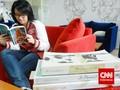 Merilis Buku Inspiratif dan Membangun Rumah Baca Kreatif