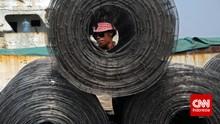 100 Ribu Pekerja Terancam PHK Karena Banjir Baja Impor China