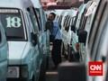 Bukan Cuma Ojol, Puluhan Ribu Angkutan 'Nganggur' Efek PSBB