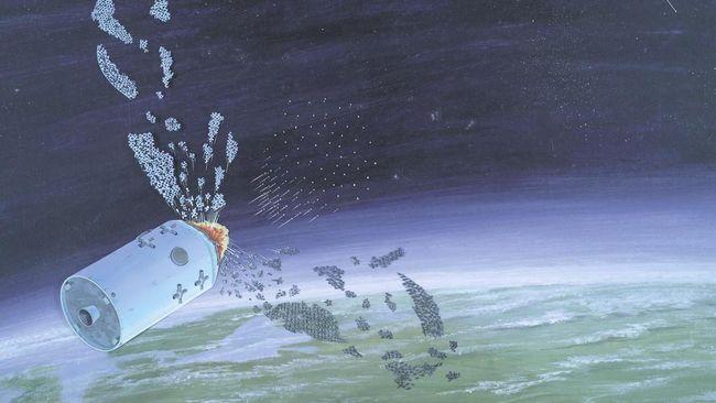 Sebuah objek di ruang angkasa dicurigai sebagai satelit Rusia. Benarkah Rusia mengaktifkan program Istrebitel Sputnikov alias satelit pembunuh satelit?