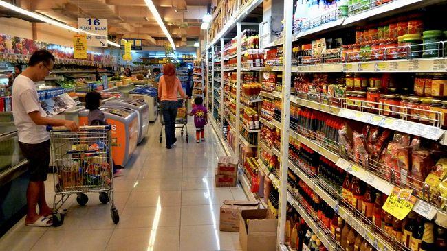 Sejumlah ritel mengungkap tak ada lonjakan konsumen penetapan PSBB di wilayah DKI Jakarta.