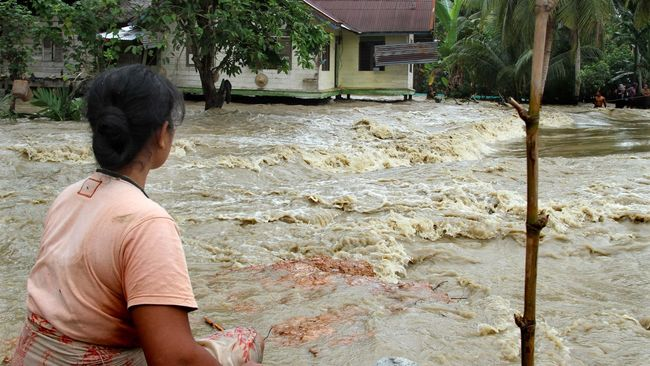 Hujan Dua Hari Banjir Rendam 1 193 Rumah Di Aceh Besar