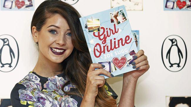 Buku berjudul Girl Online yang berhasil mengalahkan penjualan buku JK Rowling, Dan Brown, dan EL James, ditulis ghostwriter