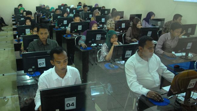 CPNS Kemenkumham Tak Lagi Wajib Cetak Kartu Antrian/Informasi