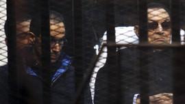 Dua Putra Hosni Mubarak Dibebaskan Pengadilan Mesir