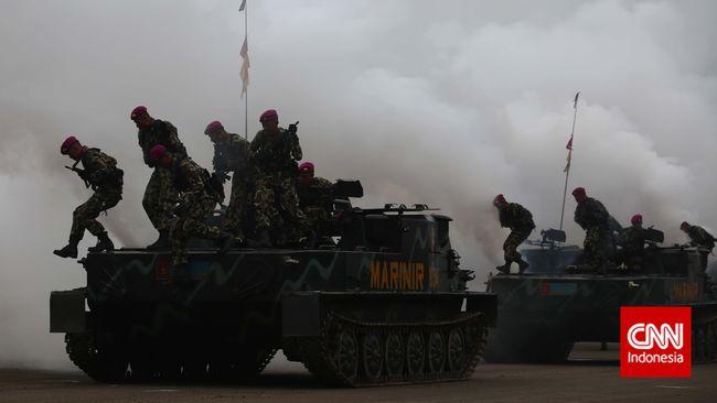 TNI menegaskan video viral yang menunjukkan tank untuk penyekatan mudik hanya latihan yang lokasinya dekat dengan titik penyekatan.