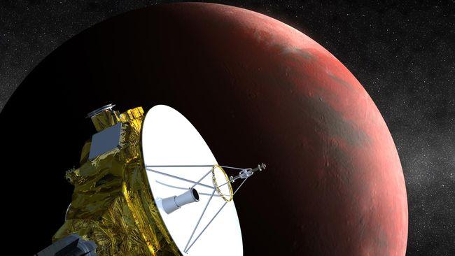 Warna Pluto tak biru dan ukurannya tak kecil. Itu adalah gambaran Pluto yang terbaru.