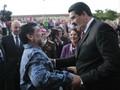 Maradona Tertidur Kala Presiden Venezuela Pidato