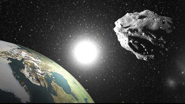 Planet Bumi nyaris saja dihantam oleh asteorid seukuran Bumi yang hampir memasuki atmosfer.