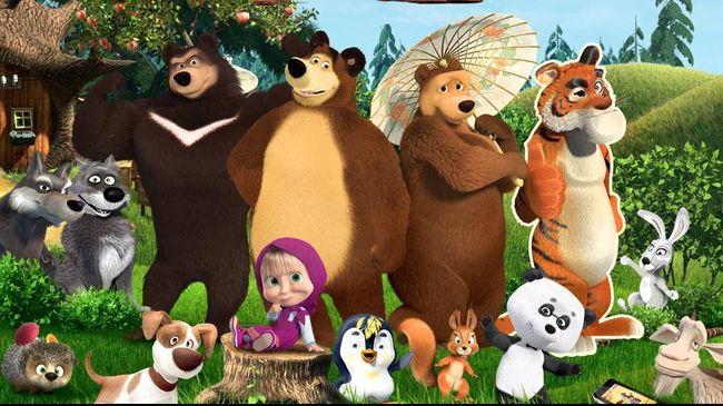 Animasi Rusia Lain Siap Gusur Masha The Bear