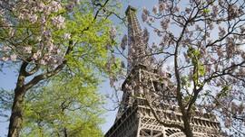 Eiffel Kembali Dibuka, Naik Turun Menara Hanya Lewat Tangga