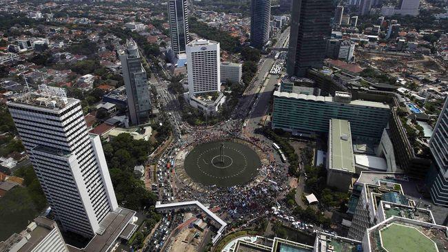 Wagub Jakarta menyebut tak ada satupun kota di dunia yang bebas kriminalitas.