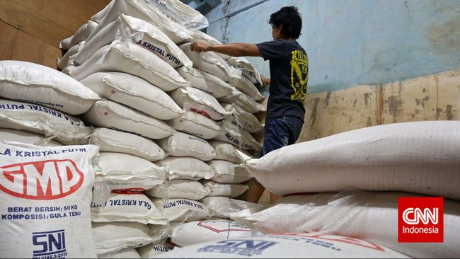 BKP Kementan mengajukan impor gula pasir sebesar Rp130 ribu ton dari India untuk menjaga stok dalam negeri.