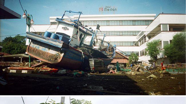 Sumatera telah dilanda beberapa belasan kali tsunami dahsyat sejak 1797 hingga Aceh pada 2004 yang tercatat sebagai salah satu bencana terbesar di Indonesia.