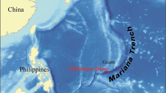 10 fakta Palung Mariana atau juga bisa disebut Palung Marianas yang akan mengejutkan siapa saja.