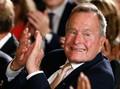 Jatuh dari Tangga, George H.W Bush Cedera Tulang Leher