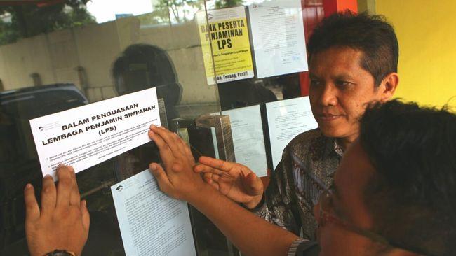 LPS mengaku telah menutup 103 bank sejak 2005 hingga saat ini, terdiri dari satu bank umum dan 102 BPR.