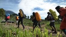 Gibran Warga Garut Hilang Saat Mendaki Gunung Guntur