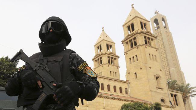 52 Polisi Mesir Tewas dalam Baku Tembak dengan Militan