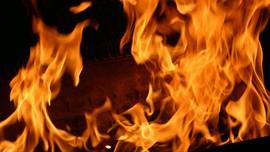 Kebakaran Besar Hanguskan Pasar Ajman di Uni Emirat Arab