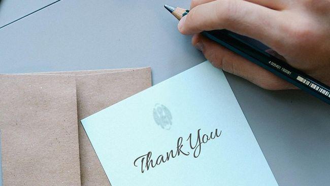 Cara Mengungkapkan Terima Kasih Yang Berkesan