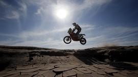 Reli Dakar Terjang Badai Garam Amerika Latin