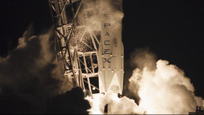 SpaceX bersiap melakukan uji coba pesawat ruang angkasanya, Crew Dragon