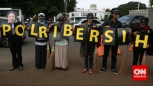 6 Tuntutan Koalisi Sipil agar Jokowi Segera Reformasi Polri