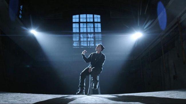 Eminem kembali ke dunia film dengan 'Bodied', film yang tetap bercerita tentang musik rap.
