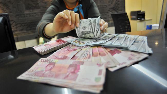 Kurs rupiah melandai ke level Rp13.695 per dolar AS pada perdagangan Rabu (19/2) pagi.