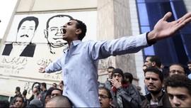 Kerusuhan di Mesir, Ratusan Orang Ditangkap