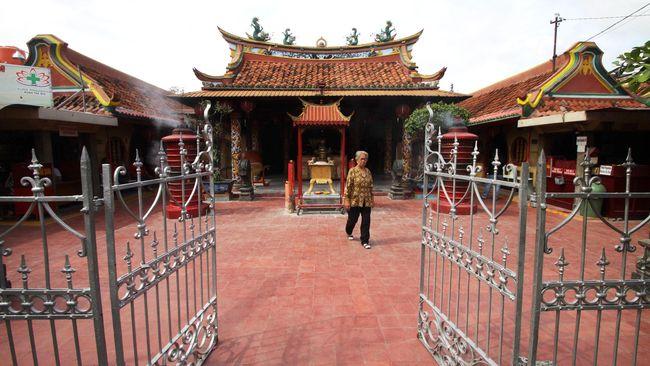 Kecamatan Lasem di Rembang, Jawa Tengah dijuluki Kota China Kecil yang kerap menjadi tujuan wisata.