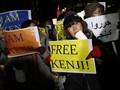 Warga Jepang Desak Abe Bebaskan Sandera ISIS