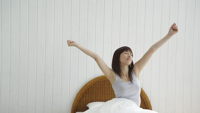 Pagi hari setelah bangun tidur adalah waktu yang tepat untuk banyak melakukan aktivitas sehat agar tubuh segar sepanjang hari.