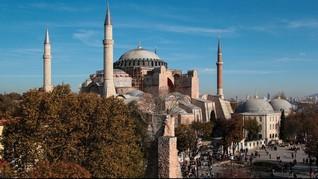 AS Desak Turki Tak Fungsikan Hagia Sophia Sebagai Masjid