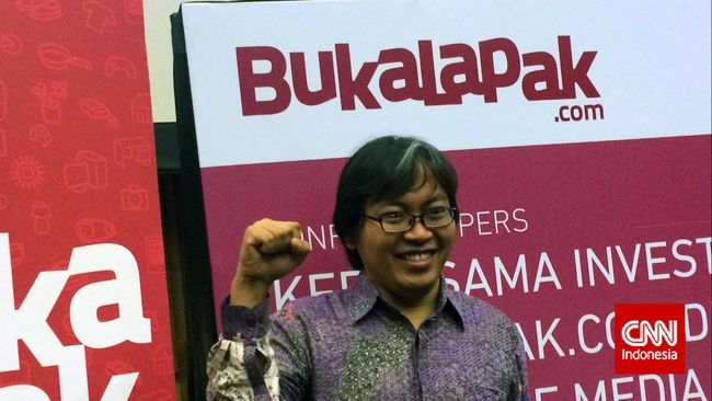 CEO Bukalapak Achmad Zaki mengkritik pendanaan riset yang minim dan cita-cita pemerintahan untuk mewujudkan revolusi industri 4.0.