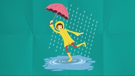 Tak Lupa Bergaya di Musim Hujan