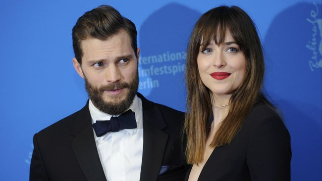 Dalam cuplikan terbaru film 'Fifty Shades Freed', percakapan Christian Grey dan Anastasia menunjukkan isu kehamilan.