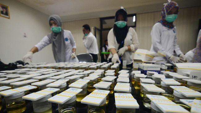 Hasil tes urine di jajaran Polda Jambi menunjukkan tujuh personel positif narkoba jenis Amphetamine dan Methamphetamine.