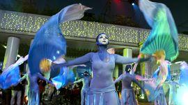 Kemeriahan Parade Internasional Tahun Baru Imlek di Hong Kong