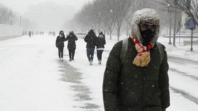 Penyebab cuaca dingin ekstrem di AS disebut sebagai akibat dari polar vortex, namun apa sebenarnya polar vortex itu?