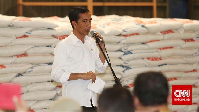 Jokowi mengatakan sebenarnya pemerintah tak suka impor beras. Tapi, banjir dan sejumlah hambatan produksi padi membuat kebijakan itu sulit untuk tidak diambil.