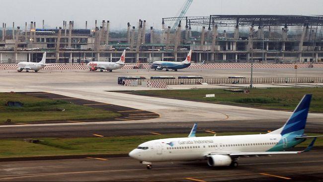 Airnav menyebut pergerakan pesawat pada 2019 ini turun sampai dengan 17,5 persen.